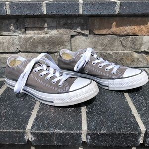 Converse All Star Gray Sneakers, size 6.5
